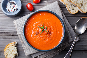 Sun-Dried Tomato Soup Recipe from Dr. Gourmet