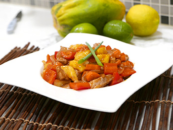 Sweet and Sour Pork recipe from Dr. Gourmet