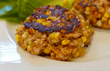 Southwestern Salmon Cakes from Dr. Gourmet