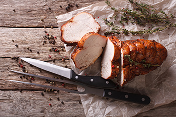 Roast turkey breast recipe from Dr. Gourmet
