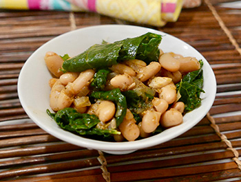 Tuscan White Beans and Kale Recipe from Dr. Gourmet