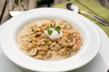 White Chili - click for the recipe!
