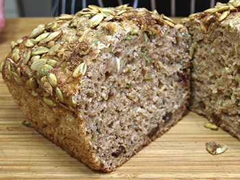 Healthy  Zucchini Bread Recipe from Dr. Gourmet