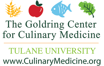 The Goldring Center for Culinary Medicine Logo