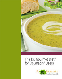 The Dr. Gourmet Diet for Coumadin Users - Buy now!