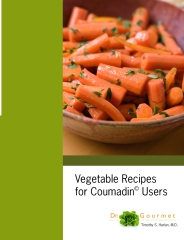 Vegetable Recipes for Coumadin Users from Dr. Gourmet