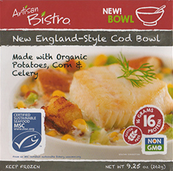 Dr. Gourmet Reviews the New England-Style Cod Bowl from The Artisan Bistro