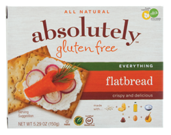 Dr. Gourmet reviews the Everything Flatbread crackers from Absolutely Gluten Free