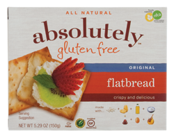 Dr. Gourmet reviews the Original Flatbread crackers from Absolutely Gluten Free
