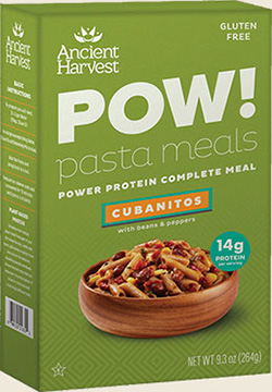 Dr. Gourmet reviews POW! Pasta Meals - Cubanitos from Ancient Harvest