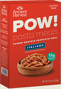 Dr. Gourmet reviews POW! Pasta Meals - Italiano by Ancient Harvest