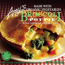 Review of Amy's Broccoli Pot Pie by Dr. Gourmet