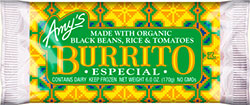 Dr. Gourmet Reviews the Burrito Especial from Amy's Kitchen