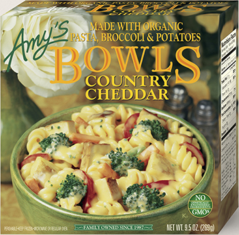 the Dr. Gourmet tasting panel reviews the Country Cheddar Bowl from Amy's