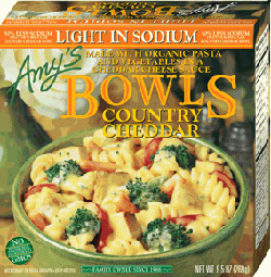 Light in Sodium Country Cheddar Bowl reviewed by Dr. Gourmet