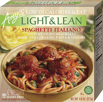 Dr. Gourmet reviews Amy's Light & Lean Spaghetti Italiano Bowl
