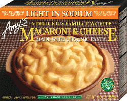 Dr. Gourmet reviews Light in Sodium Macaroni & Cheese from Amy's Kitchen