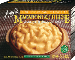 Dr. Gourmet reviews Macaroni & Cheese from Amy's Kitchen