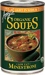 Amy's Light in Sodium Minestrone Review by Dr. Gourmet