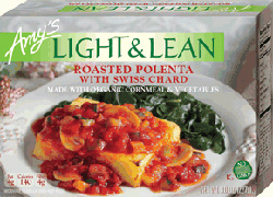 Light & Lean Roasted Polenta with Swiss Chard reviewed by Dr. Gourmet