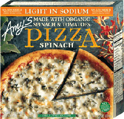 Dr. Gourmet Reviews Light in Sodium Spinach Pizza from Amy's Kitchen