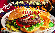 Amy's Foods Texas Veggie Burger Review by Dr. Gourmet
