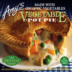 Review of Amy's Vegetable Pot Pie by Dr. Gourmet