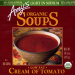 Amy's Organic Low Fat Cream of Tomato Soup