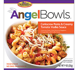Dr. Gourmet reviews Angel Foods' Corkscrew Pasta & Creamy Tomato Vodka Sauce