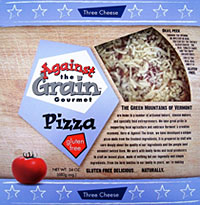 Against the Grain Three Cheese Pizza