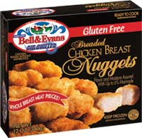 Bell and Evans Gluten Free Chicken Nuggets Review