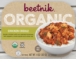 Dr. Gourmet reviews Chicken Creole from Beetnik Foods