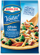 Dr. Gourmet reviews Alredo Chicken from Birds Eye's Voila! line of skillet meals