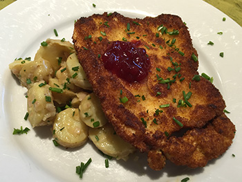 Chicken Schnitzel from BlueApron