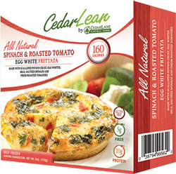 Dr. Gourmet reviews the Spinach & Roasted Tomato Egg White Frittata from CedarLane Natural Foods