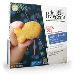 Dr. Gourmet reviews Lightly Breaded Fishies from Dr. Praeger's Sensible Foods