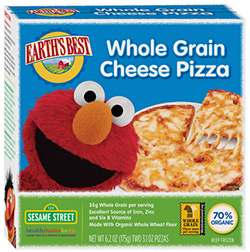 Dr. Gourmet reviews Whole Grain Cheese Pizza from Earth's Best, a kids meal