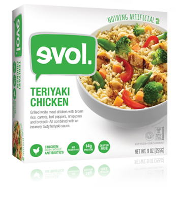 Dr. Gourmet revisits the Chicken Teriyaki Bowl from evol Foods