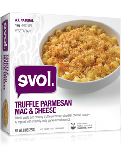 evol. Foods Truffle Parmesan Mac & Cheese Review by Dr. Gourmet