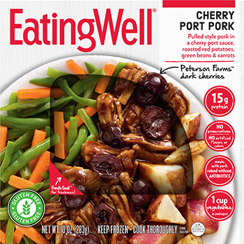 Dr. Gourmet reviews Cherry Port Pork from EatingWell