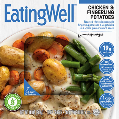 Dr. Gourmet the Chicken & Fingerling Potatoes meal from EatingWell