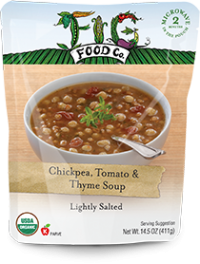 Dr. Gourmet Reviews Chickpea, Tomato & Thyme Soup from Fig Food Co..