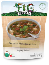 Nonna's Minestrone Soup by Fig Foods Review by Dr. Gourmet