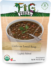 Dr. Gourmet Reviews Umbrian Lentil Soup from Fig Food Co..