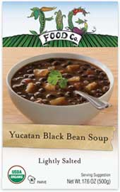 Fig Foods Yucatan Black Bean Soup Review by Dr. Gourmet
