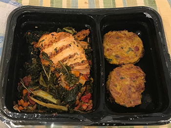 Dr. Gourmet reviews Grilled Herb Chicken from Freshly