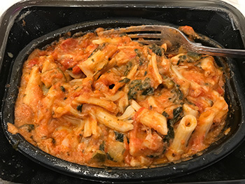 the Veggie Baked Penne from Freshly after stirring