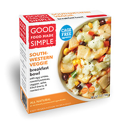 Dr. Gourmet reviews the Southwestern Veggie Breakfast Bowl from Good Food Made Simple