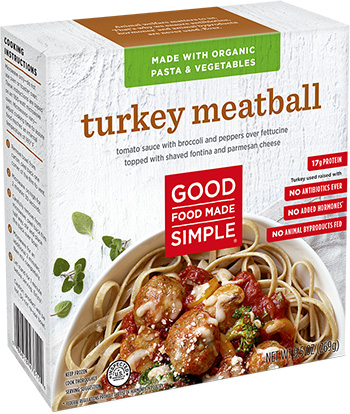 Dr. Gourmet reviews the Turkey Meatball bowl from Good Food Made Simple.