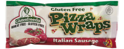 Glutenfreeda Pizza Wrap: Italian Sausage Reviews